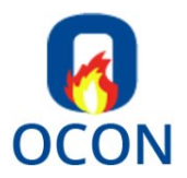 Ocon Fire and Security Logo