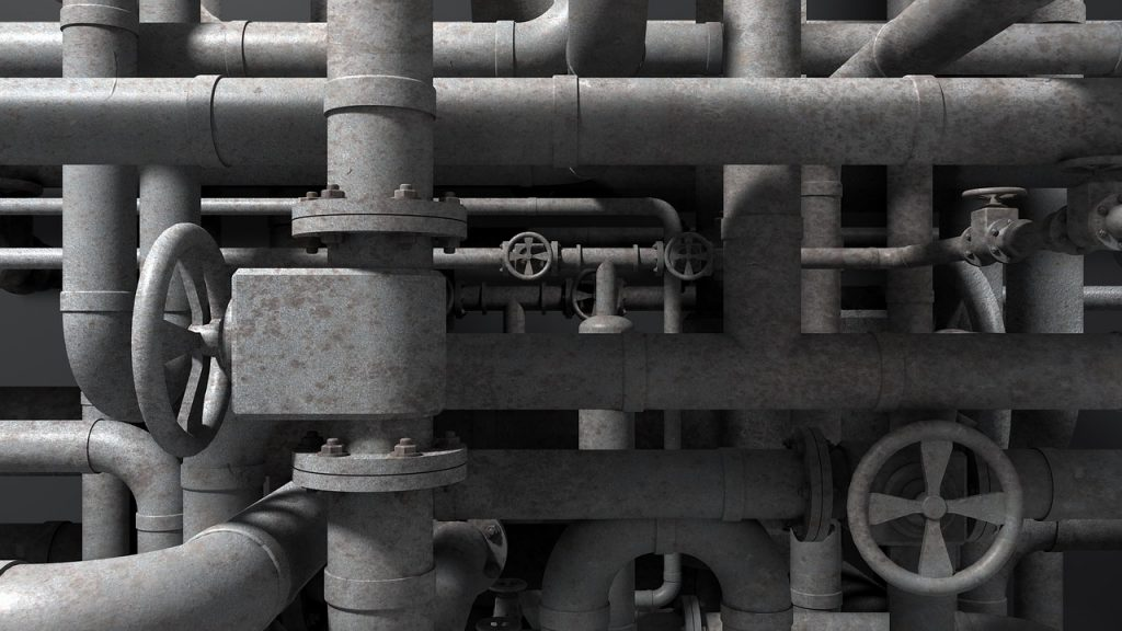 Refinery Pipes